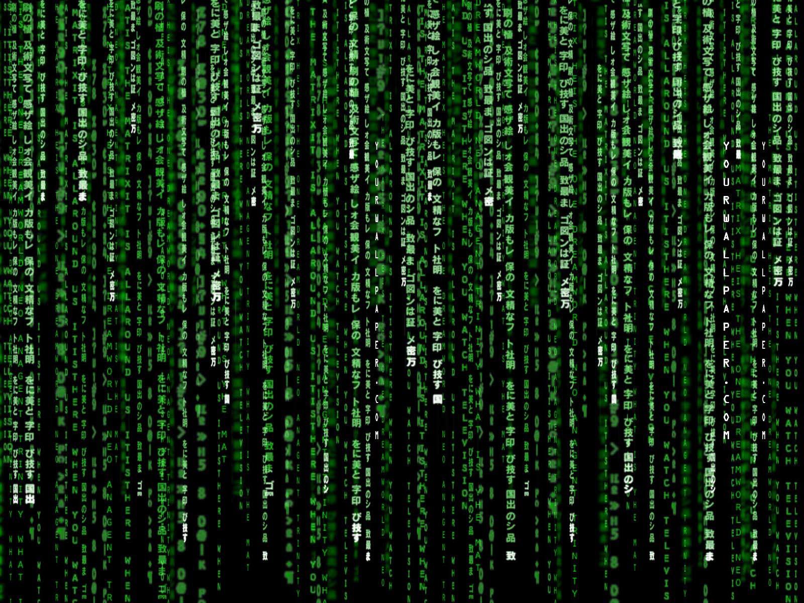 Benvenuti in Matrix!