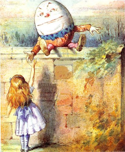 Humpty Dumpty e il dominio delle parole