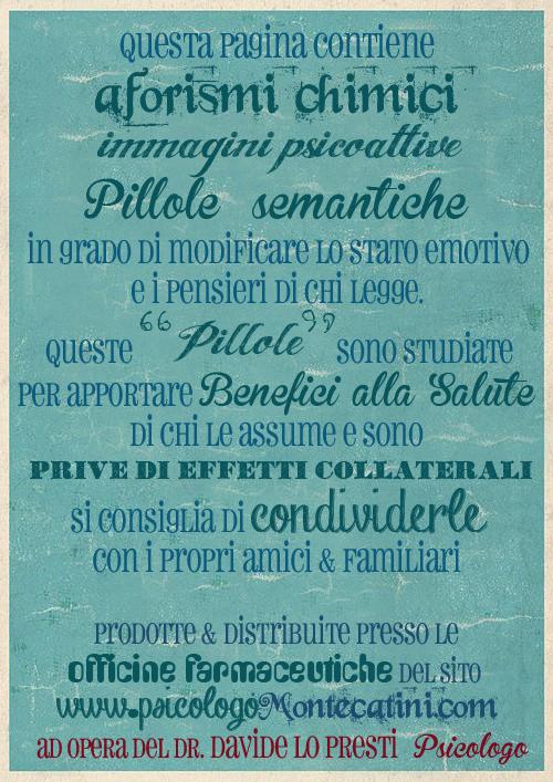 Pillola #00 Pillole Sfondo verde consumato Versione blu Dr. Davide Lo Presti PsicologoMontecatini.com