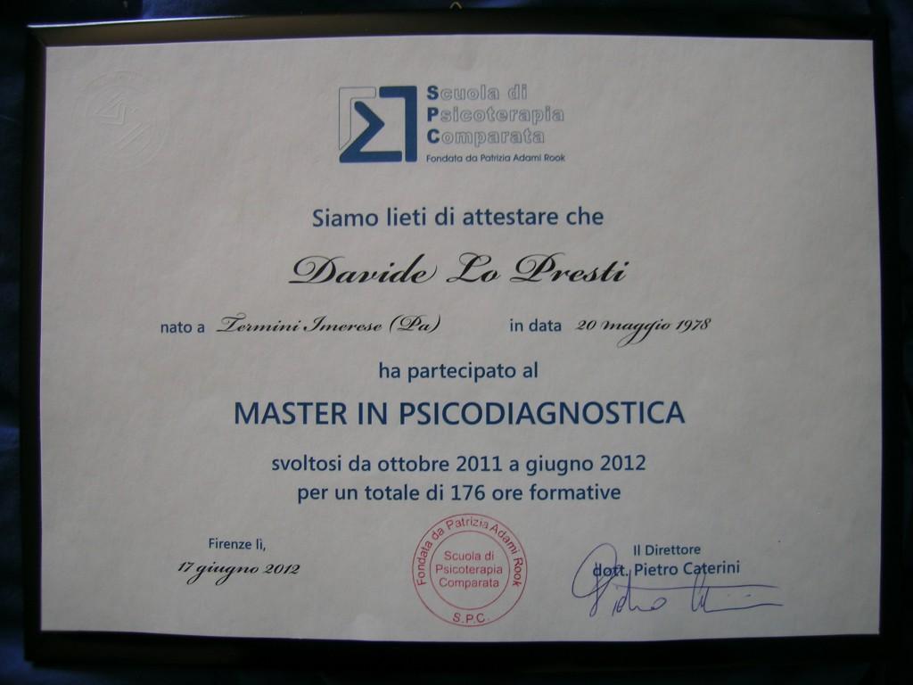 master Psicologia Giuridica