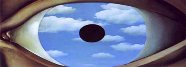 magritte occhio falso specchioMr. Heisenberg e il millepiedi. Il principio di indeterminazione prova b