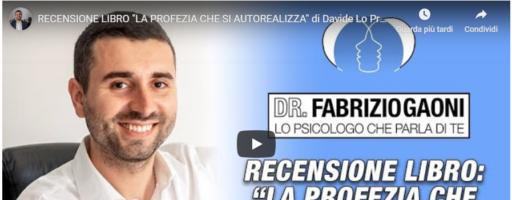 """RECENSIONE LIBRO """"LA PROFEZIA CHE SI AUTOREALIZZA"""" di Davide Lo Presti"""