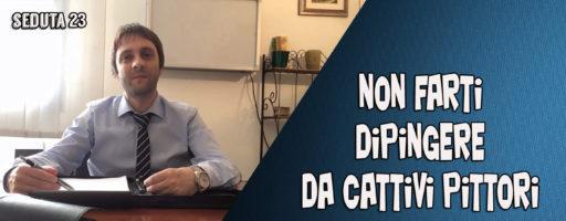 NON FARTI DIPINGERE DA CATTIVI PITTORI | Seduta 23 BENVENUTI NEL MIO STUDIO